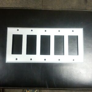 5-gang switch/receptacle coverplate