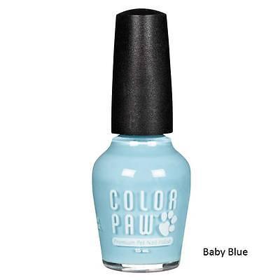 Color Paw Nail Polish - Dog Cat Nail Polish - Baby Blue - Color Paw - Premium Fast Drying