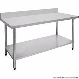 Commercial 1800-7-WBB Economic 304 Grade Stainless Steel Table wi Melbourne CBD Melbourne City Preview