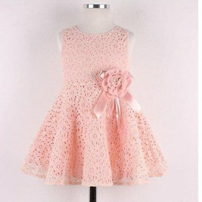 baby flower girl lace floral dress toddler