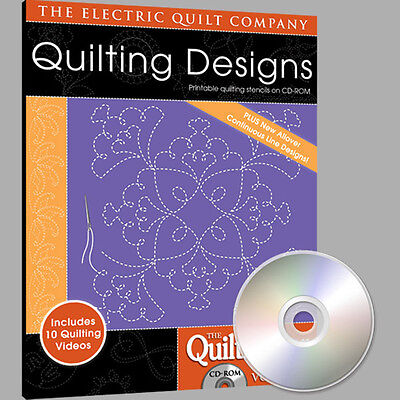 Electric Quilt Quiltmaker Quilting Designs Volume 7 Softw...