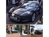 Wedding Car Hire Chauffeur Bentley, Aston Martin, H2 Hummer