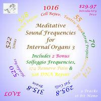 Meditative Sound Frequencies for Internal Organs 3