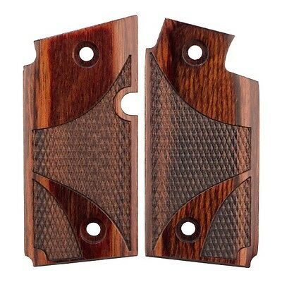 Sig Sauer P238 P 238    Rosewood Laminated Wood Checkered Custom Grips
