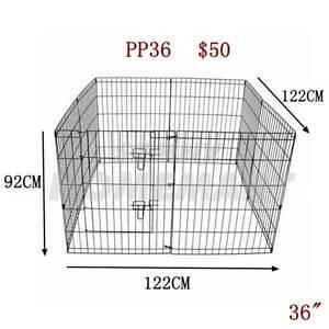 """36""""Playpen Dog Cat Puppy Rabbit PET Exercise 8 Panel Enclosure Derrimut Brimbank Area Preview"""