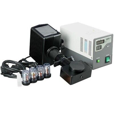 Amscope Fk-epi-2 Epi Fluorescence Microscopy Kit For Compound Microscopes