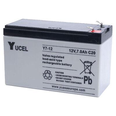 Yucel 12V 7Ah Eléctrico Niños Coche Juguete Batería Recargable Como 12v 6Ah,...