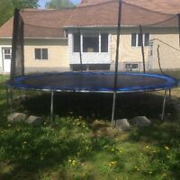 Trampoline à vendre/for sale
