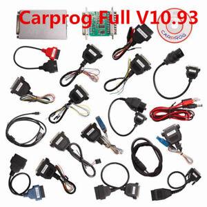 Carprog Full V10.93 with 21 Adapter Support Airbag Reset, Dash, IMMO, MCU/ECU