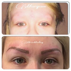 HAIR STROKE EYEBROWS ($279 holiday special) Cambridge Kitchener Area image 8