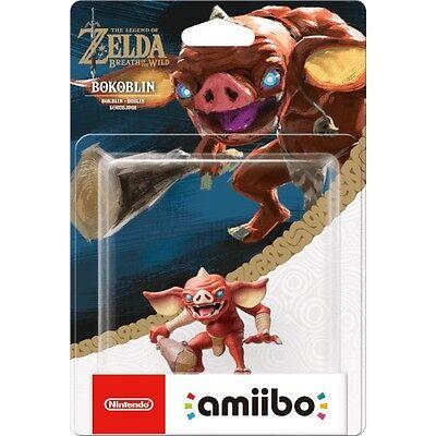 The Legend Of Zelda Breath Of The Wild Bokoblin amiibo Nintendo Switch Wii U.
