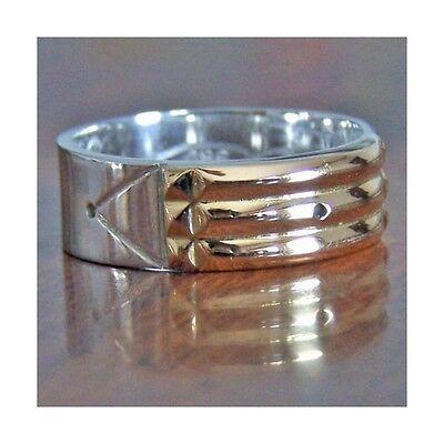 Atlantis Ring  Anillo Atlante  950 Silver Plata 18K Gold Oro All Sizes