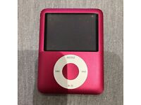iPod Nano 3rd Generation 8GB Product Red