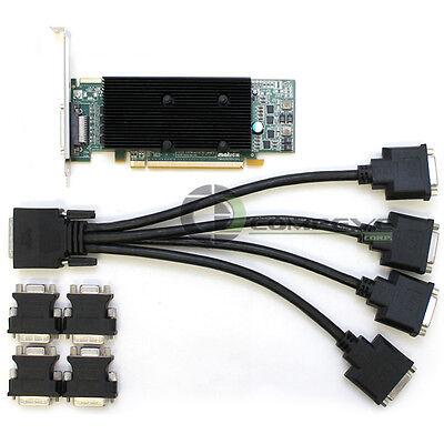 Matrox M9140 512 MB DDR2 SDRAM PCI Express x16 Graphics adapter M9140E512LAF  512mb Pci Express Graphics Adapter