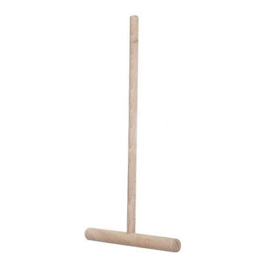 attrezzo RULLO per SPATOLA PALETTA utensile stendere CREPES e CRESPELLE IN LEGNn