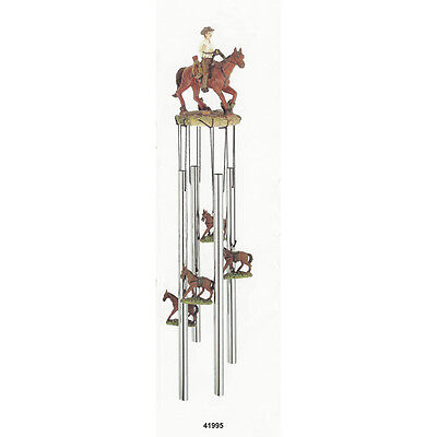 (Cowboy & Horse Wind Chime)