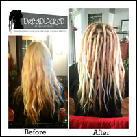 * Dreadlock install and maintenance in Barrie *