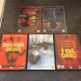 Top 2015 / 2014 Horrors DVDs