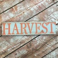 Fall Harvest Sign