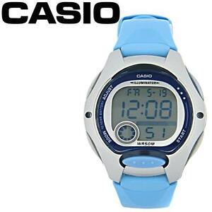 9f787fcd93eb Reloj Casio LW 200 2BV Azul ORIGINAL con GARANTIA Niña Niño Mujer
