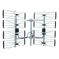 Get HDTV for FREE! - 100% LEGAL - Super 8 Bay HDTV Antenna - NEW