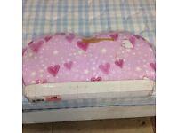 New 2ft6 single pink heart headboard