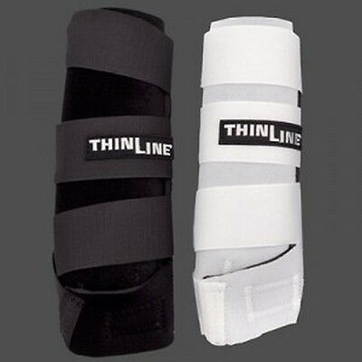 Thinline Cobra Sports Medicine Style SMB Support Boots M L XL Black White