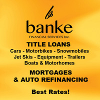 Need Cash! Car title Loans/ Collateral Loans /2nd Mortgages