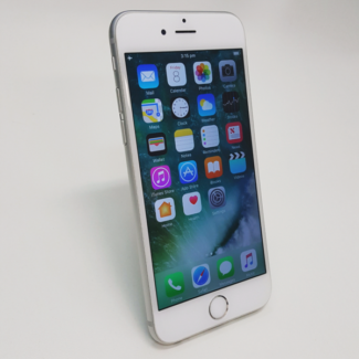 IPHONE 6 64GB SILVER/GREY COLOUR WITH TAX INVOICE AND WARRANTY