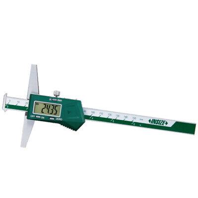 Insize Electronic Digital Double Hook Depth Gauge 0-80-200mm 1144-200a