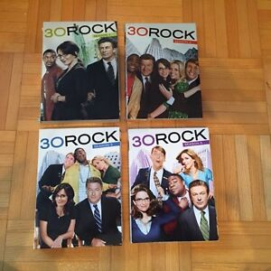 30 Rock DVDs - Seasons 1,2,3 and 5