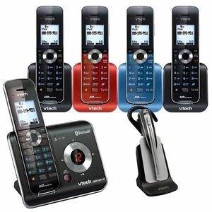 5 Handset Connect to Cell™ Answering System