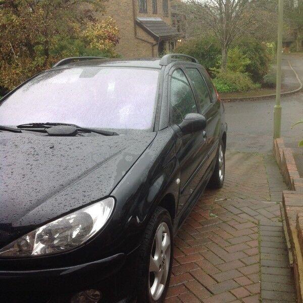 Peugeot 206sw estate Black