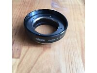 Metabones CONTAX G - SONY NEX (A-series) adapter