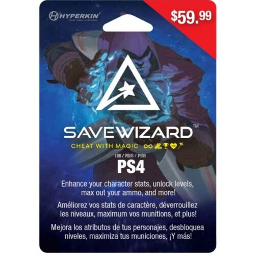 Hyperkin Save Wizard Save Editor for PS4 (Physical Version) NEW