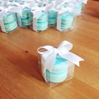 WEDDING/PARTY MACARONS FAVOUR BOXES