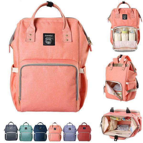Baby Backpack Diaper Bag Nursing Organizer Travel Nappy Bag