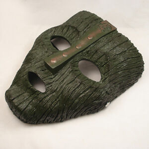 NEW-Resin-Replica-The-Mask-Loki-Mask-Movie-Prop-Memorabilia-With-Stripe-JM02