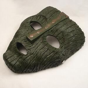 NEW Resin Replica The Mask Loki Mask Movie Prop Memorabilia With Stripe JM02