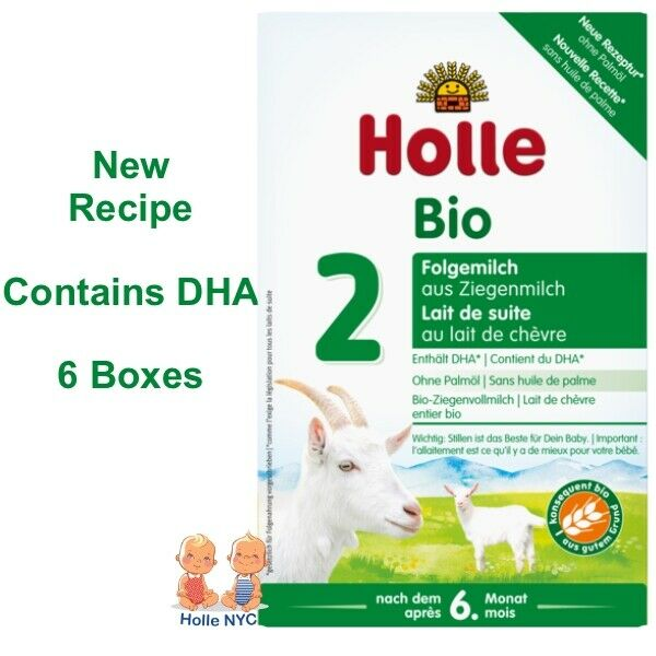 Holle Goat Milk Stage 2 Organic Formula 6 Boxes 400g Free Shipping