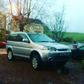 Honda Hrv 4x4 4wd , spares or repairs