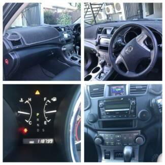 2009 Toyota Kluger AWD KX-S Automatic 7 Seater Wagon