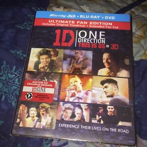 One Direction Blu-Ray + DVD copy