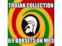 TROJAN REGGAE BOXSETS COLLECTION ON MP3 DISCS