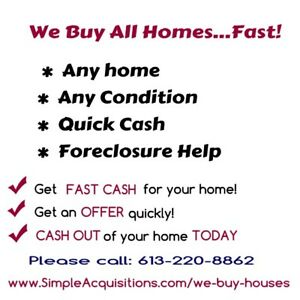 Difficult time selling your House? We can Help!