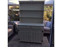 Restored Farrow & Ball White /cream Welsh dresser