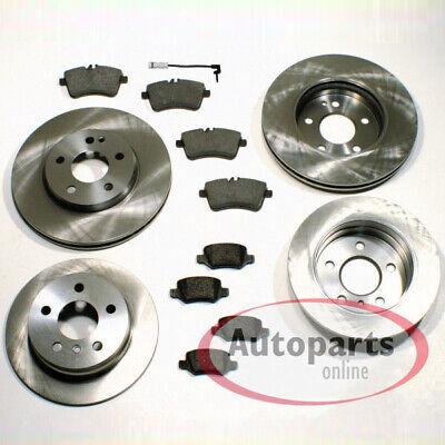Mercedes GLA-Klasse [X156] - Bremsscheiben Bremsbeläge für vorne und hinten