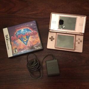 Nintendo DS Lite et jeu Bejeweled 3