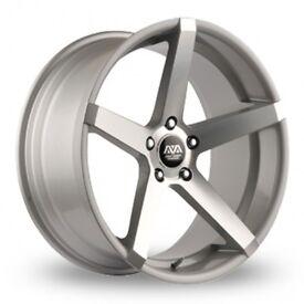 "18"" AVA Miami on tyres for a Golf MK5 MK6 MK7 Jetta Caddy ETC"