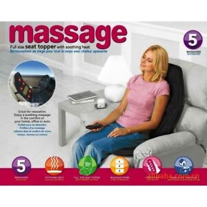 Massage Seat Topper - Car & Office. NEW IN BOX
